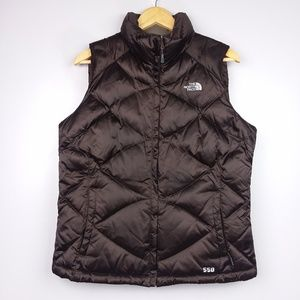 The North Face Goose Down 550 Brown Puffer Vest